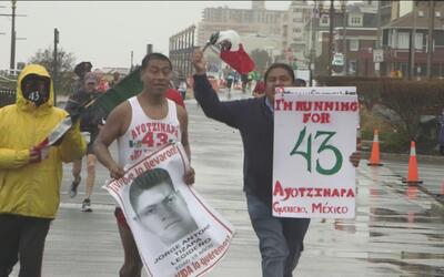 Running for Ayotzinapa