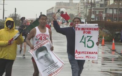 Running for Ayotzinapa