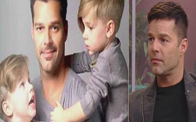 """Para Ricky Martin ser papá """"es el trabajo más difícil del mundo"""""""