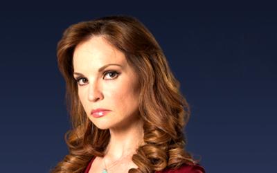 """Victoria Ruffo es """"La Madrastra"""" y trae el misterio a Univision tlnovela..."""