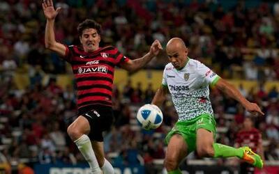 Atlas 2-2 Jaguares: Ochoa llevó a Chiapas al empate