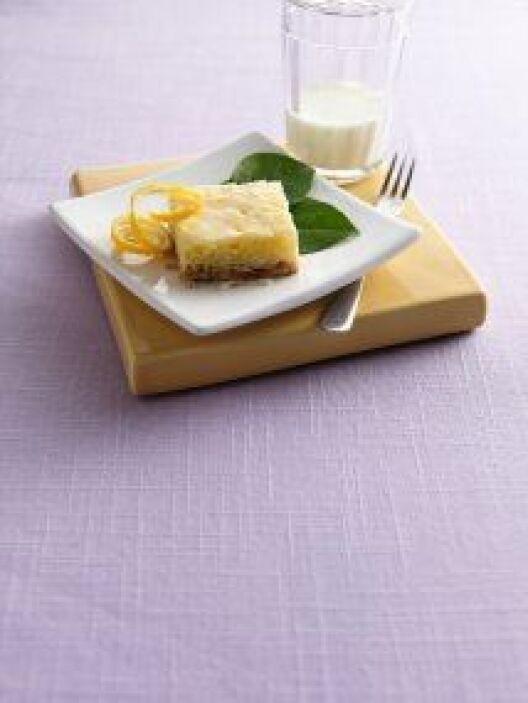 Barras de coco con glaseado: Si te gusta el coco, en esta receta te most...