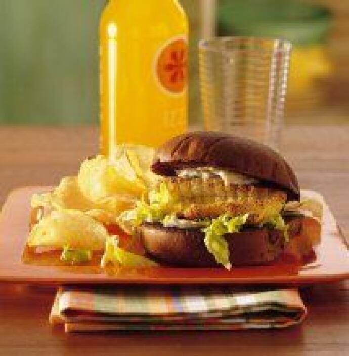 Sándwiches de filete de pescado: Llega la época de verano y que mejor qu...