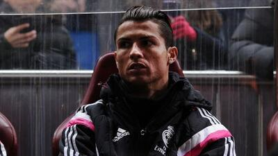 El portugués fue suplente en el partido que Real Madrid perdió ante el A...