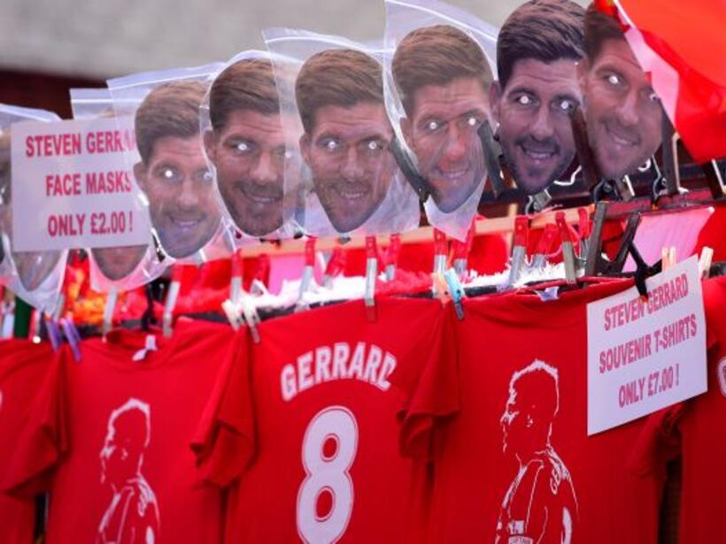 La 'máscara' de 'Stevie G' se podia comprar por solo 2 euros para vestir...