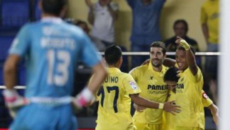 Giovani anotó en la goleada del Villarreal al Granada.