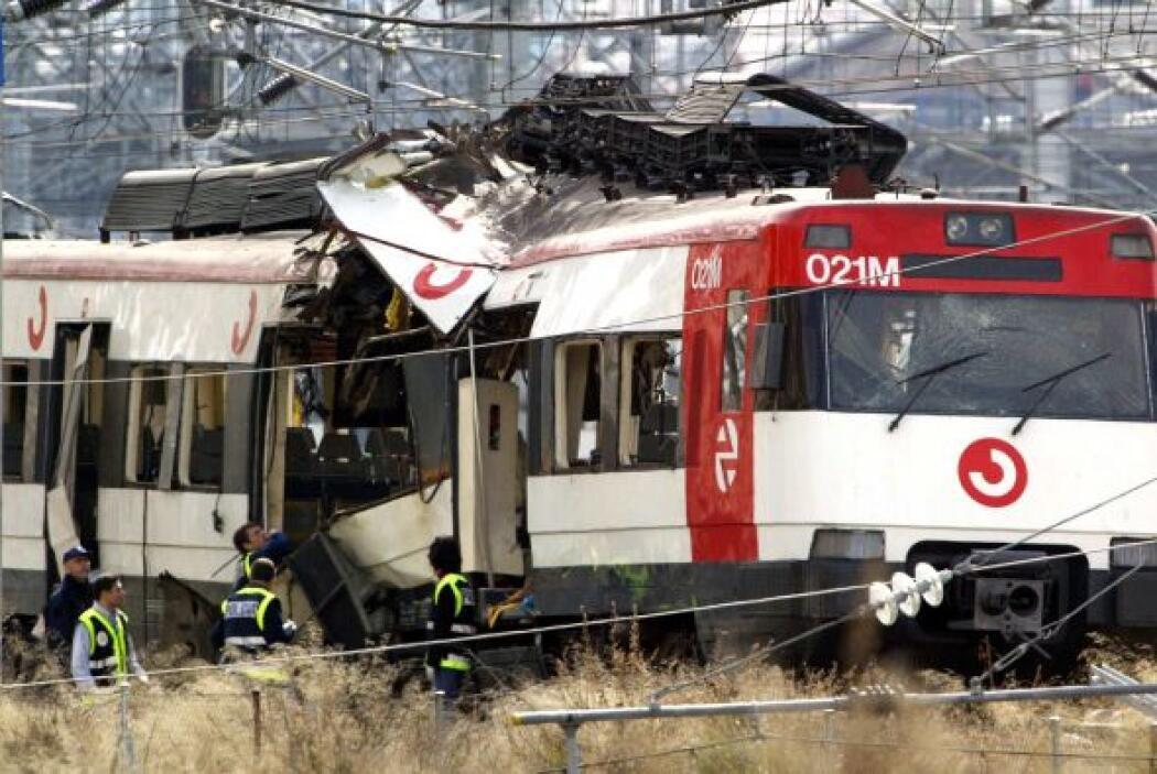 11 de marzo de 2004. Una serie de ataques terroristas a cuatro trenes en...