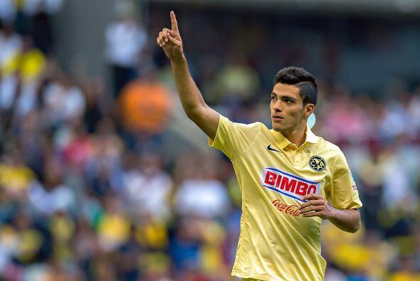 Raúl Jiménez lleva un total de 34 goles anotados en los últimos 5 torneo...