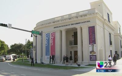 El Museo de la Diáspora Cubana en Miami abre sus puertas en Miami