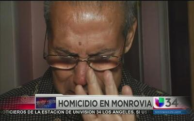 Padre reacciona ante el asesinato de su hija