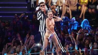 El baile candente que Miley Cyrus realizó en los MTV VMA se denomina 'tw...