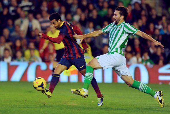 Barcelona, pese a no lucir tan aplastante como acostumbra, seguía...