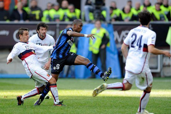 Los interistas recibieron al Genoa con la necesidad de no dejar ir punto...