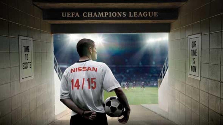 Nissan obtuvo el patrocinio de la liga de campeones de la UEFA por cuatr...