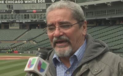 """Héctor Molina, voz en español de los White Sox: """"El equipo va a lucir me..."""