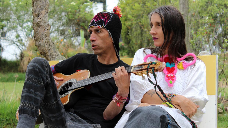 Héctor Buitrago y Andrea Echeverri