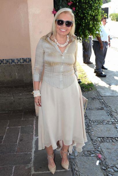La productora Carla Estrada fue una de las invitadas de honor.