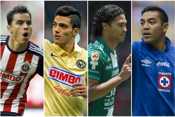 El delantero del América es en la actualidad el goleador mexicano...