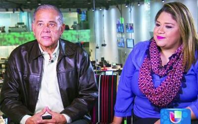 Padre e hija, un buen equipo que trabaja en Univision