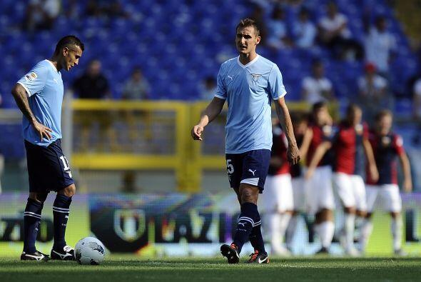 Definitivamente, este no ha sido el arranque de torneo que esperaba Lazio.
