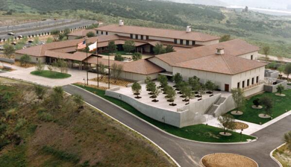 Ronald Reagan Presidential Library, ubicada en Simi Valley, California.