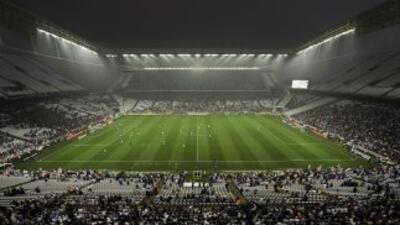 Estadio Arena Corinthians de Sao Paulo.
