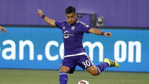 Matías Pérez García debutó como titular para Orlando City SC.