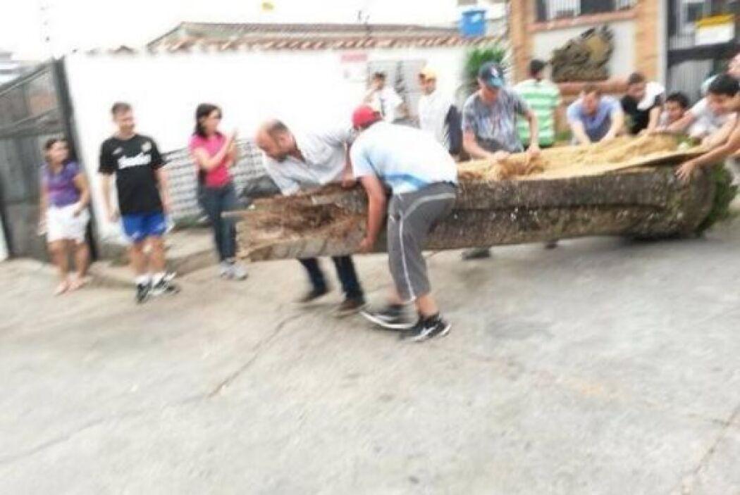 Pobladores de todas las edades participan en las movilizaciones en Gocho...