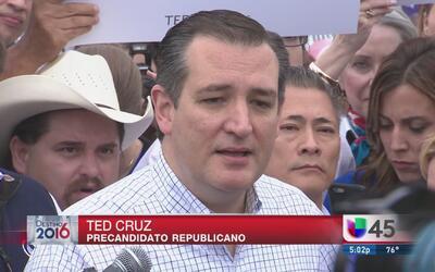 Cruz insta a votantes a cerrar filas para derrotar a Trump