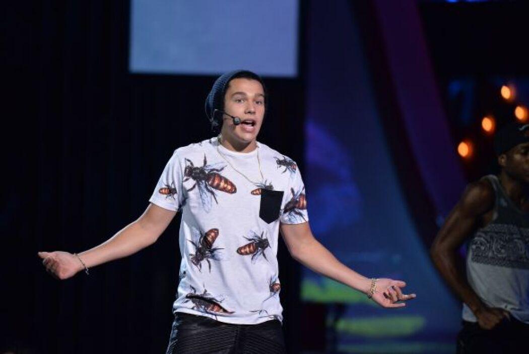Austin llegó por primera vez a Premios Juventud con todo su talento para...