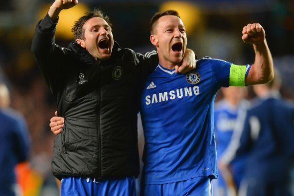 Así como los referentes del Chelsea, Frank Lampard y Terry quienes vivir...