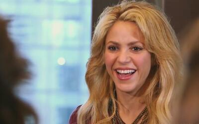 Shakira contagió a las chicas con su esencia musical y habló sobre su pa...