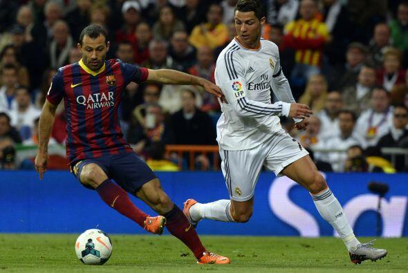 Iniciaba el ansiado duelo y el Madrid buscó hacer daño con...