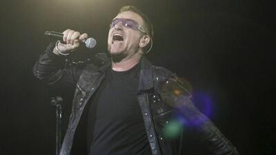 La banda irlandesa U2
