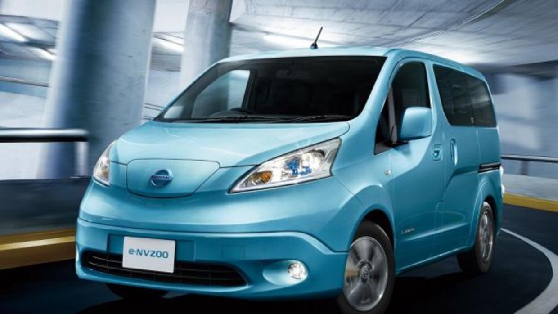 Nissan pondrá a la venta la e-NV200, su primer vehículo comercial comple...