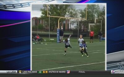 El hijo de T.Y. Hilton ya se prepara para llegar a la NFL