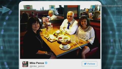 El misterio de la foto familiar del candidato a la vicepresidencia de Do...