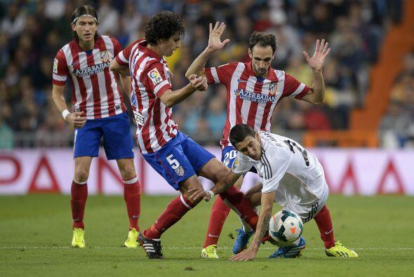 El Atletico de Madrid presionó por toda la cancha y no dej&oacute...