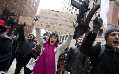 Conmemoran en todo el país el legado de Martin Luther King en su lucha p...