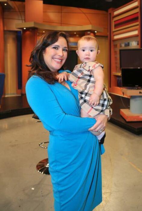 En febrero anunció que otra vez está embarazada. ¿Cuál es el bebé más ti...