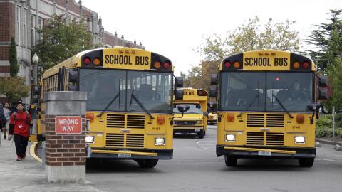 Actualmente solo seis estados tienen leyes que exigen a los autobuses es...