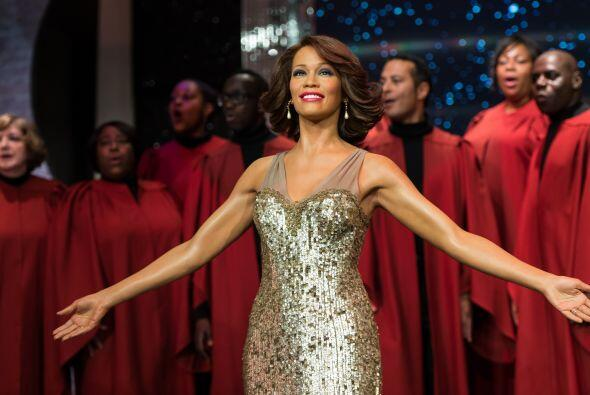 La de Whitney Houston es muy parecida a la fallecida cantante.