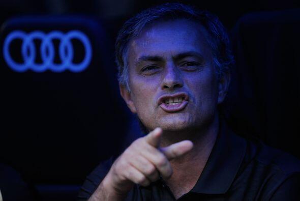 Showman de siempre, este fin de semana Mourinho estuvo más en las...