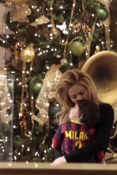 Tan pronto como Shakira comenzó a apapachar a su hijo, la angustia de no...