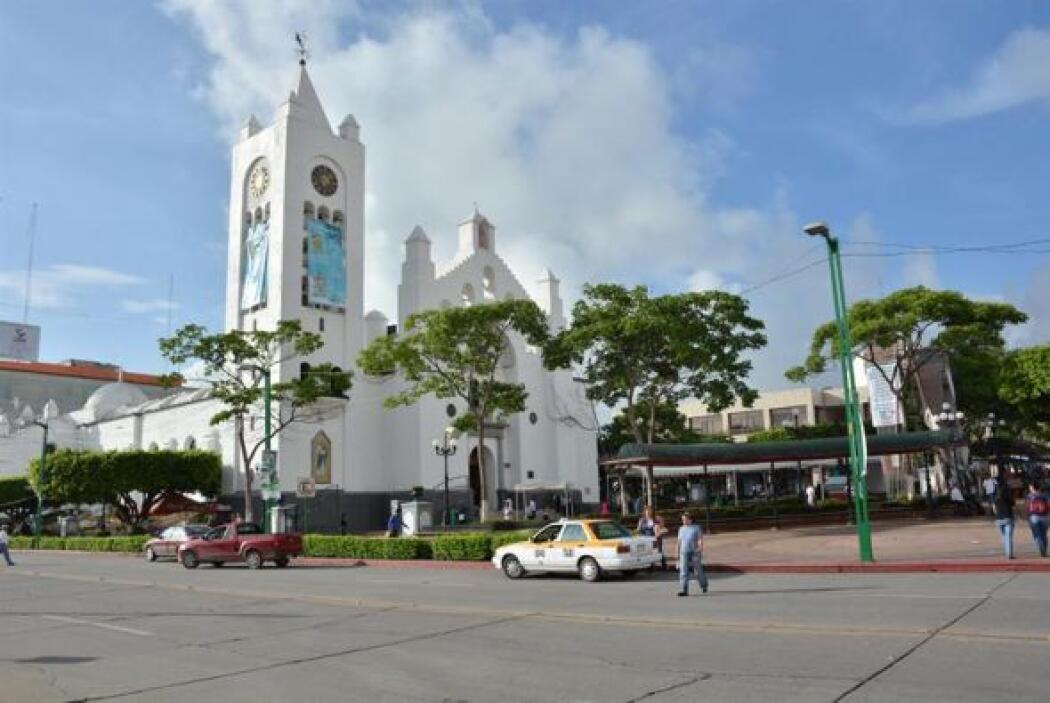 Imagen de la plaza principal de Tuxtla Gutiérrez, estado de Chiapas.