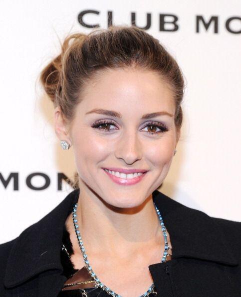 Otro maquillaje invernal muy bonito es este que presumió Olivia Palermo....