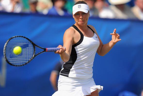 La rusa ocupa el tercer puesto del ránking de la WTA, sin embargo, la au...