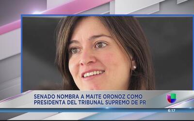 Controversia por la confirmación de Maite Oronoz
