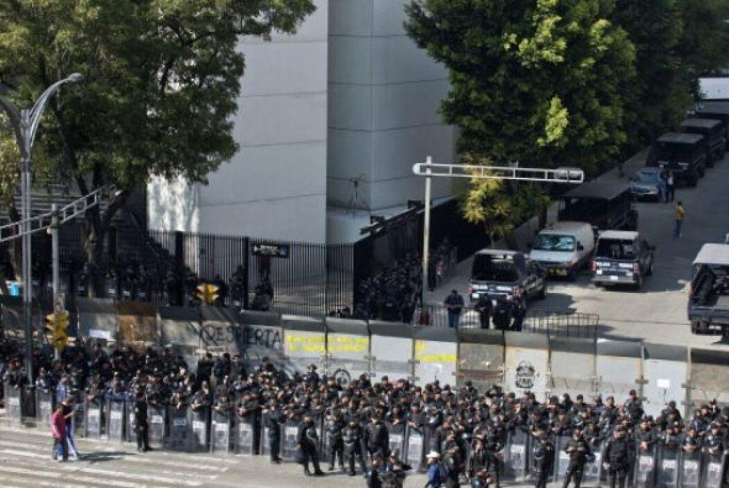 La amenaza de posibles manifestaciones por parte de grupos opositores en...