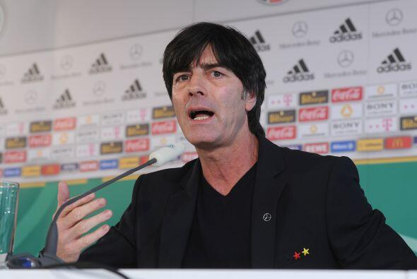 El entrenador alemán Joachim Löw disfruta de una buena camada de jugador...